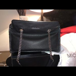 Michael Kors Aster large satchel new w/tag dustbag